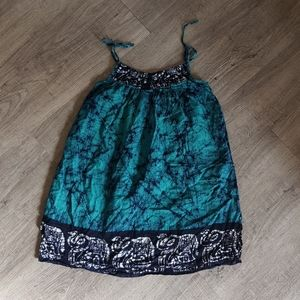 Batik cotton sundress